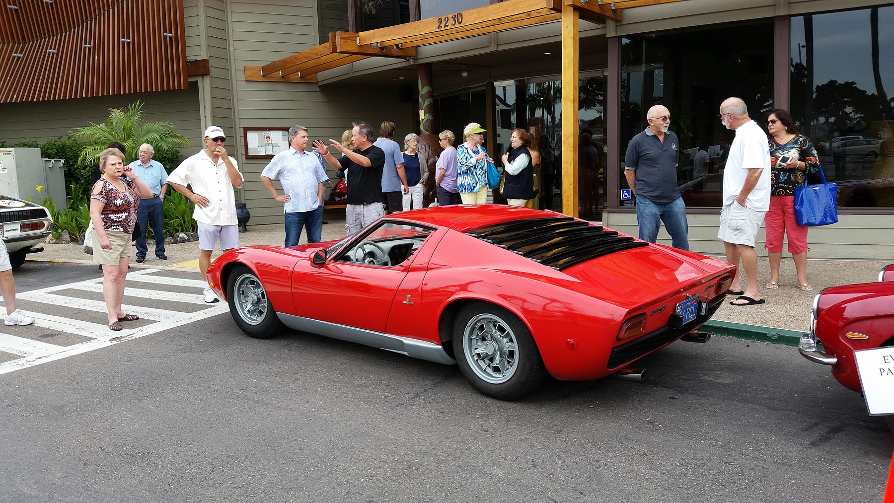The Miura Got Prime Parking - Deservedly