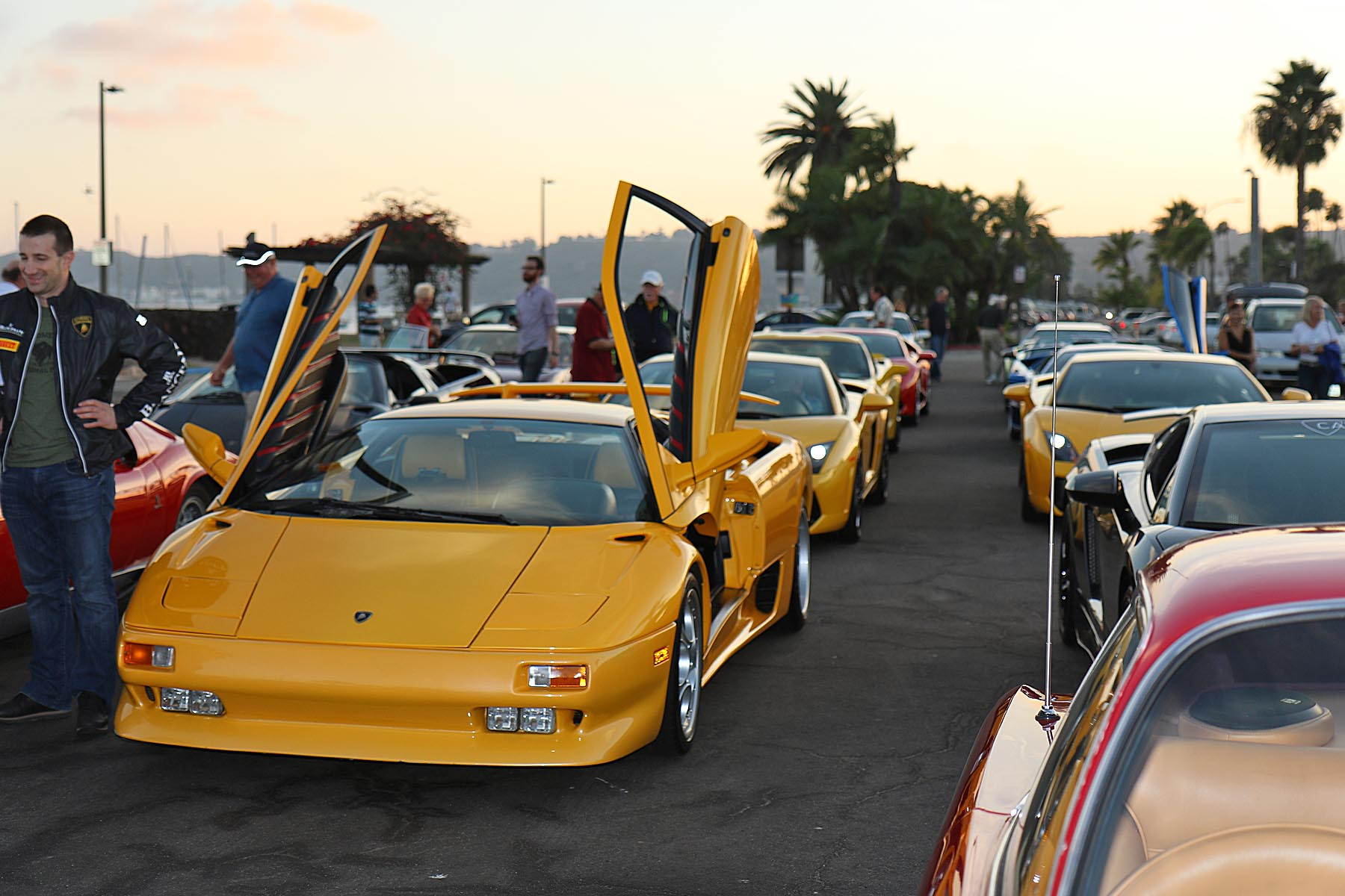 Friday Night Assembly - Heading for the Automotive Museum in Balboa Park