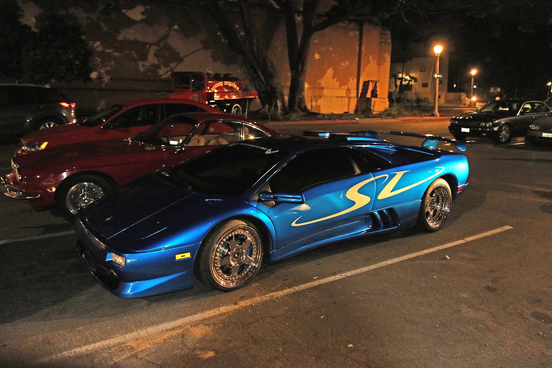 Kevin Hayes' Awesome Blue Diablo