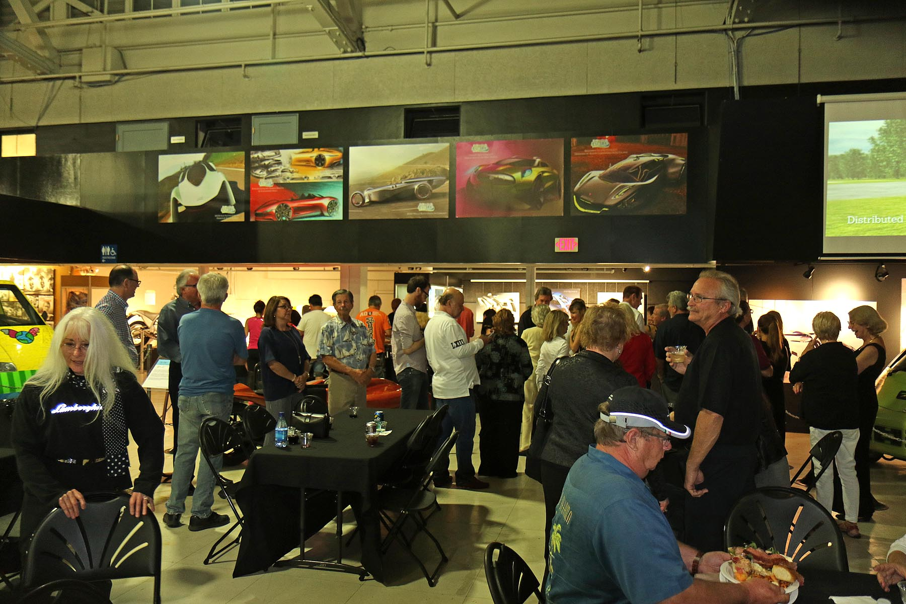 Dinner Time at the Automotive Museum