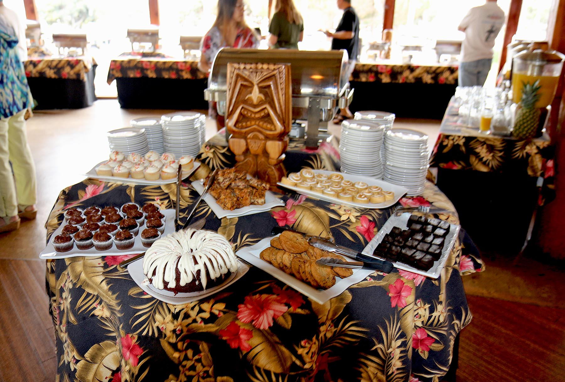 The Dessert Table at Brunch - Yum!